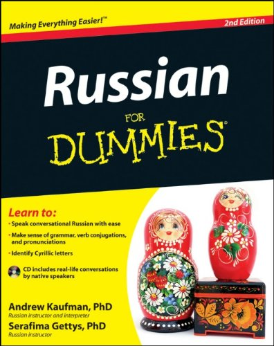 Russian  2nd 2012 9781118127698 Front Cover