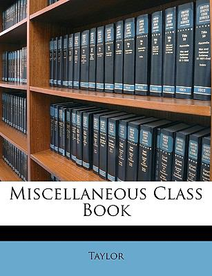 Miscellaneous Class Book N/A edition cover