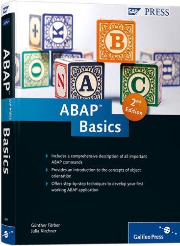 ABAP Basics  2nd 2011 edition cover