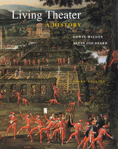 Living Theater A History 3rd 2000 edition cover