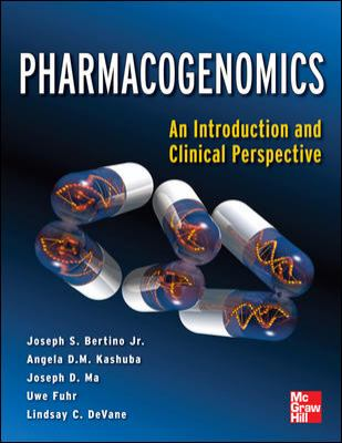 Pharmacogenomics an Introduction and Clinical Perspective   2013 edition cover