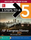 5 Steps to a 5 AP European History 2016 Edition  5th 2015 edition cover