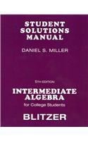 Intermediate Algebra  5th 2009 9780136008699 Front Cover