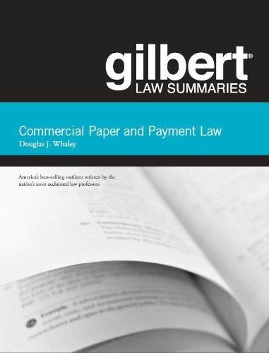 Gilbert Law Summaries on Commercial Paper and Payment Law, 17th  17th 2013 (Revised) edition cover