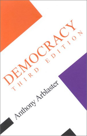 Democracy  3rd 2002 (Revised) 9780335209699 Front Cover