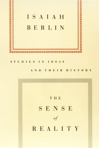 Sense of Reality Studies in Ideas and Their History  1999 edition cover