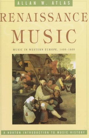 Renaissance Music Music in Western Europe, 1400-1600  1998 edition cover