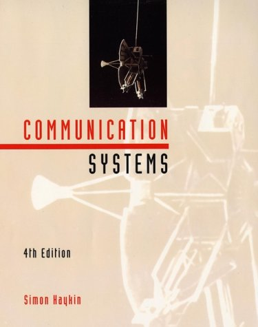 Communication Systems  4th 2001 (Revised) edition cover