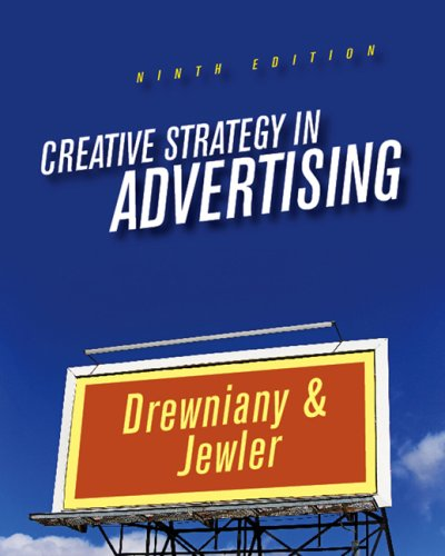 Creative Strategy in Advertising  9th 2008 edition cover