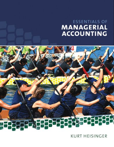 Essentials of Managerial Accounting   2008 edition cover