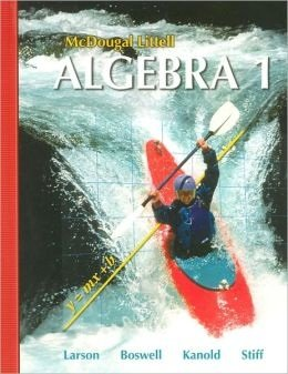 Algebra 1   2007 9780618887699 Front Cover
