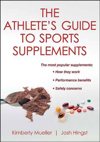 Athlete's Guide to Sports Supplements   2013 edition cover