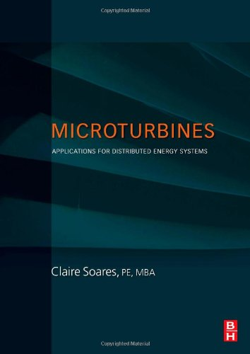 Microturbines Applications for Distributed Energy Systems  2007 9780750684699 Front Cover