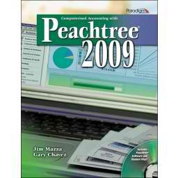 COMPUTERIZED ACCT.W/PEACHTREE 2009-W/CD N/A 9780763835699 Front Cover