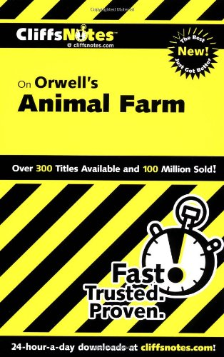 Orwell's Animal Farm   2001 edition cover