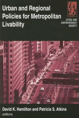 Urban and Regional Policies for Metropolitan Livability   2008 edition cover