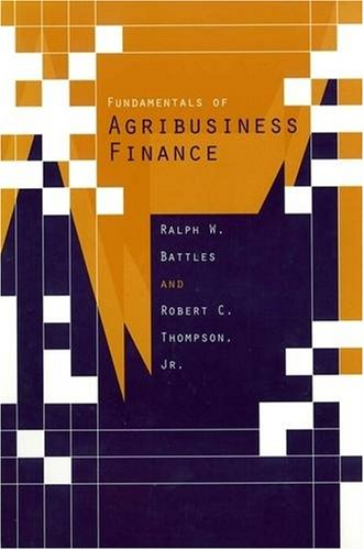 Fundamentals of Agribusiness Finance   2001 edition cover