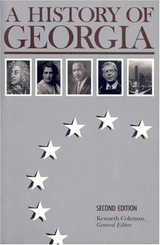 History of Georgia  2nd 1977 edition cover