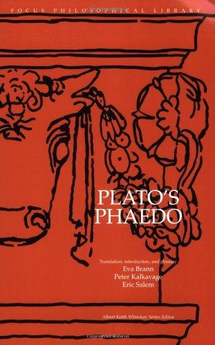 Plato Phaedo  N/A edition cover