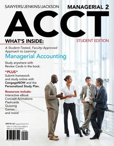 Managerial ACCT  2nd 2013 edition cover