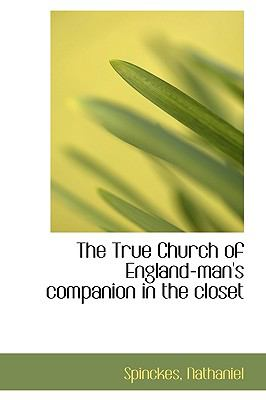 True Church of England-Man's Companion in the Closet N/A 9781113480699 Front Cover