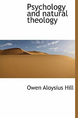 Psychology and Natural Theology  N/A 9781115824699 Front Cover