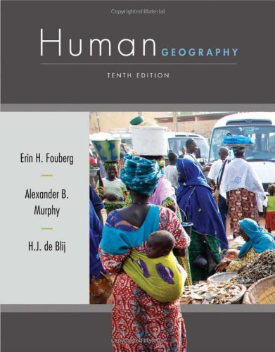 Human Geography People, Place, and Culture 10th 2012 edition cover