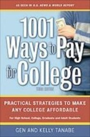 1001 Ways to Pay for College:  2008 edition cover