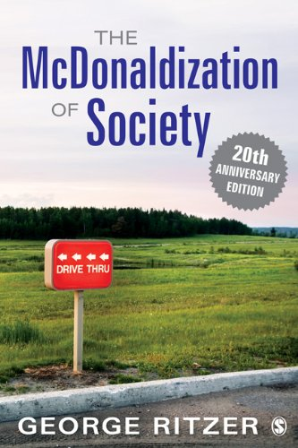 McDonaldization of Society  7th 2013 edition cover