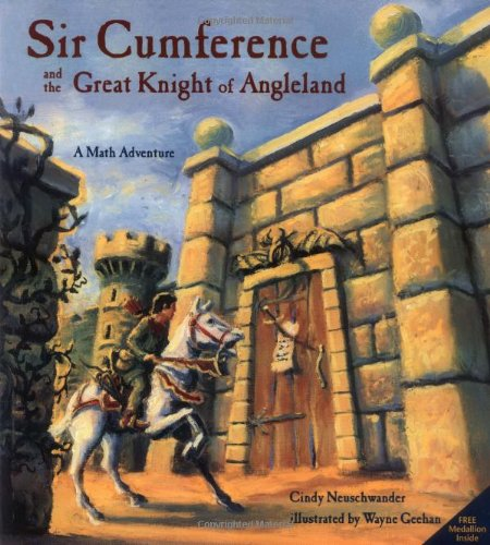 Sir Cumference and the Great Knight of Angleland   2001 edition cover