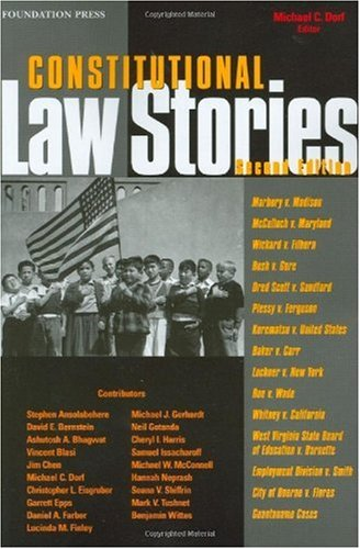 Constitutional Law Stories, 2d  2nd 2009 (Revised) edition cover