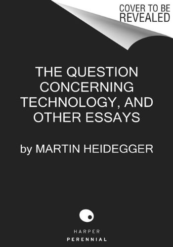Question Concerning Technology And Other Essays  2013 edition cover