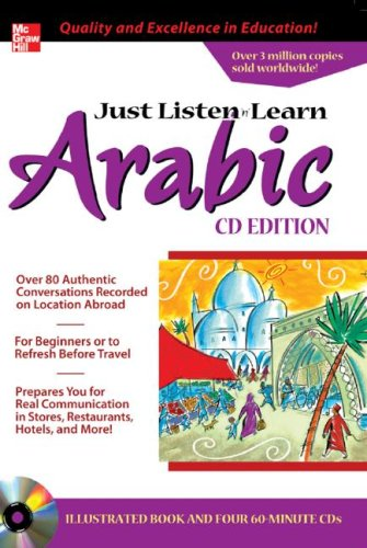 Just Listen 'n' Learn Arabic  2nd 2005 edition cover