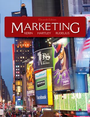 Marketing with Connect Plus  11th 2013 edition cover