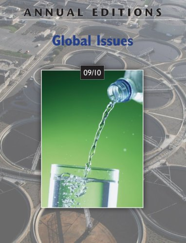 Annual Editions Global Issues 09/10 25th 2010 edition cover