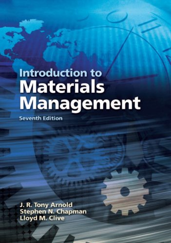 Introduction to Materials Management  7th 2012 (Revised) edition cover