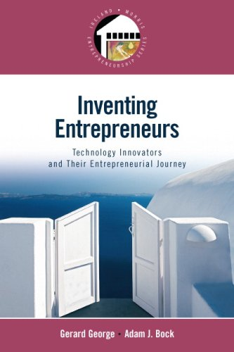 Inventing Entrepreneurs Technology Innovators and Their Entrepreneurial Journey  2009 edition cover
