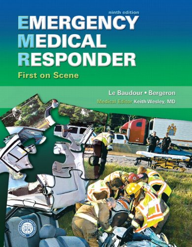 Emergency Medical Responder First on Scene 9th 2012 (Revised) edition cover