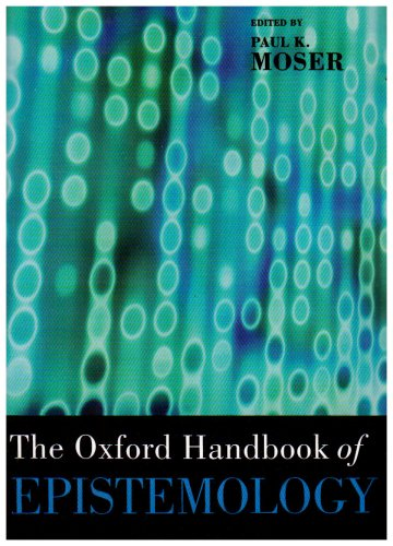 Oxford Handbook of Epistemology   2005 edition cover