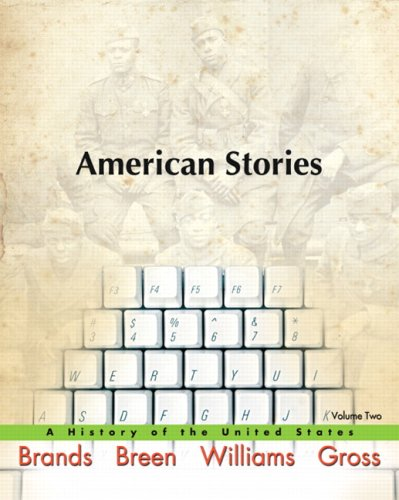 American Stories A History of the United States  2009 edition cover