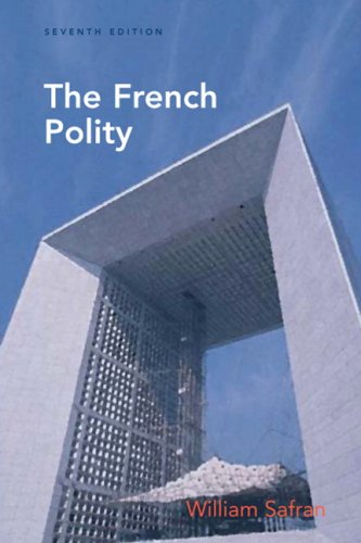 French Polity  7th 2009 (Revised) edition cover