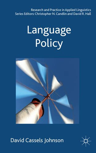 Language Policy   2013 edition cover