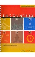Encounters Chinese Language and Culture, Character Writing Workbook 1 2nd 2011 edition cover