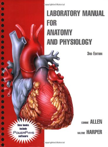 Laboratory Manual for Anatomy and Physiology  3rd 2009 (Lab Manual) edition cover