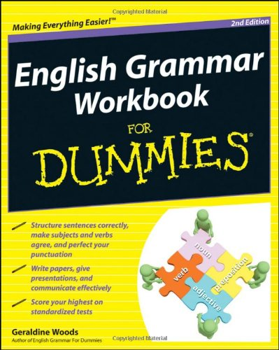 English Grammar Workbook for Dummies�  2nd 2011 edition cover