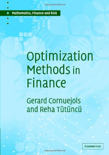 Optimization Methods in Finance   2006 edition cover