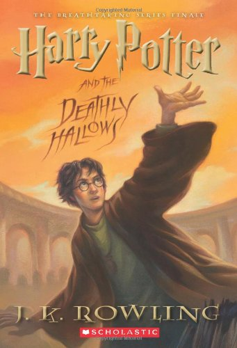 Harry Potter and the Deathly Hallows  N/A 9780545139700 Front Cover