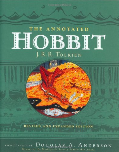 Annotated Hobbit   2002 edition cover