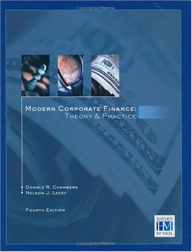 Modern Corporate Finance Theory and Practice  2003 9780738007700 Front Cover