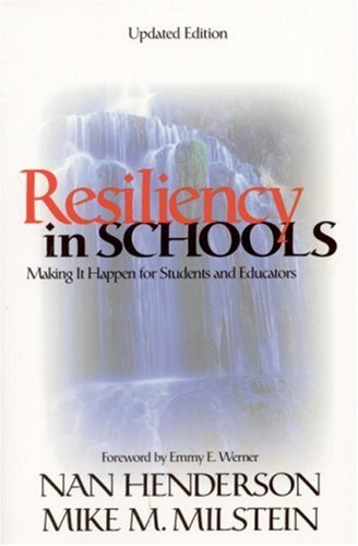 Resiliency in Schools Making It Happen for Students and Educators 2nd 2002 edition cover